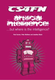 Artificial Intelligence cover: a robot