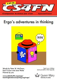 Ergo's adventures in thinking cover