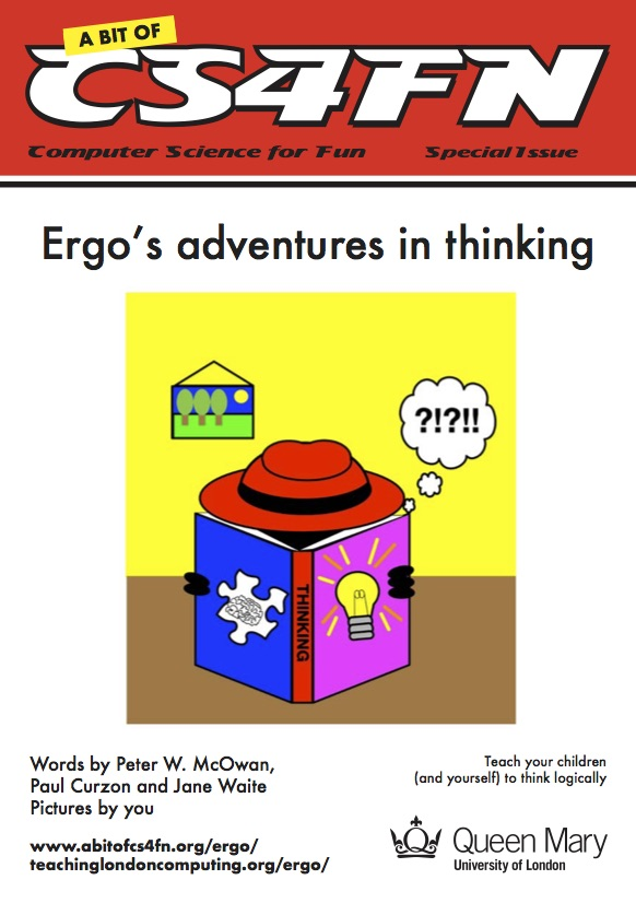 Ergo's adventures in thinking front cover