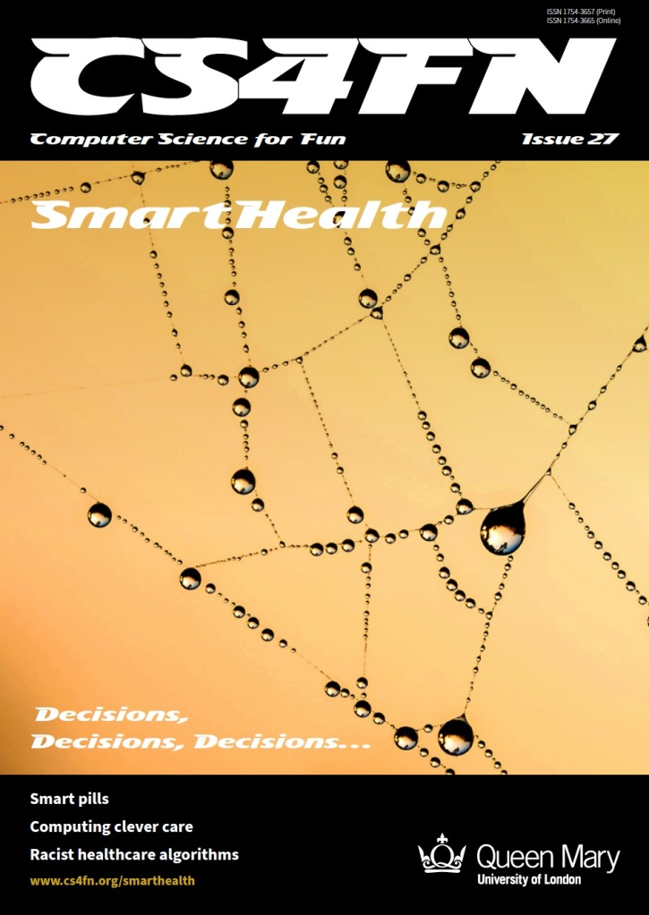 Cover of issue 27 Smart Health - a cobweb full of dew